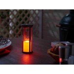 Provence Bird Stake with Solar Candle Lantern