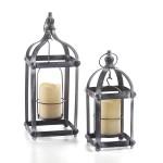 Bradford Metal LED Lantern Set