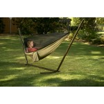 Camping Hammock with Mosquito Netting - Olive/Khaki
