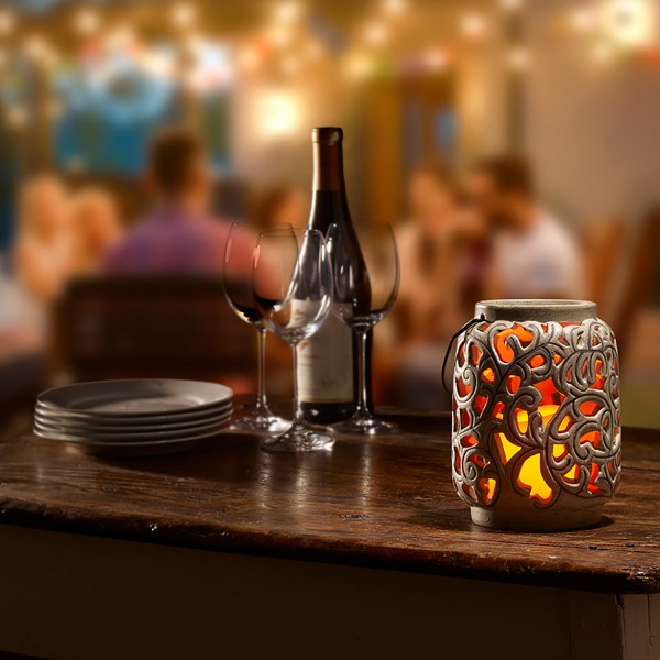 """Orsini 7"""" LED Candle Lantern"""