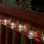 Solar Light String - Cornelius Pewter 20 ct.