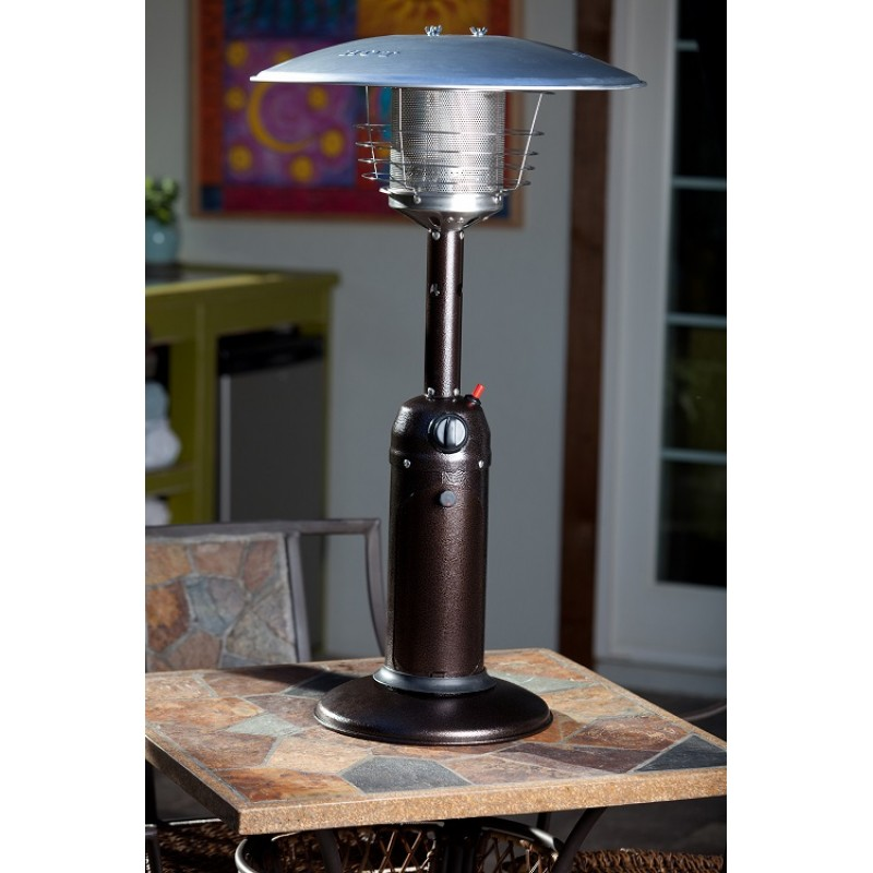Bronze Finish Table Top Patio Heater