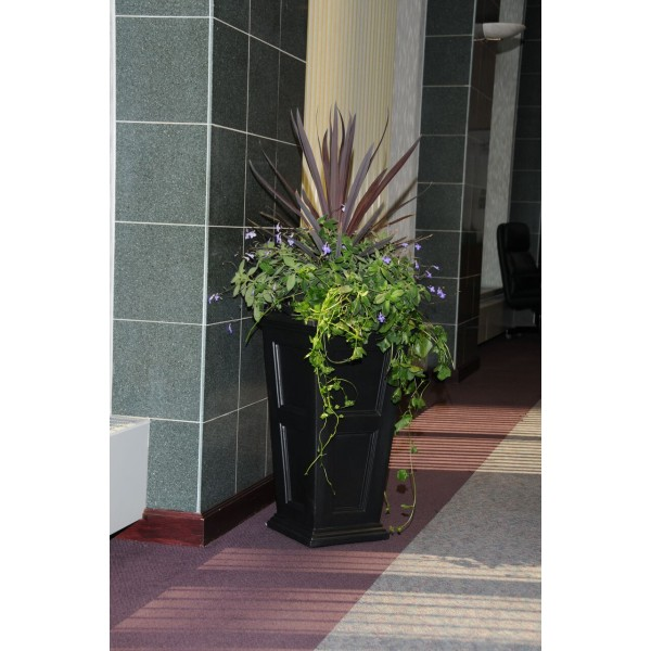 "Fairfield 28"" Tall Self Watering Planter"