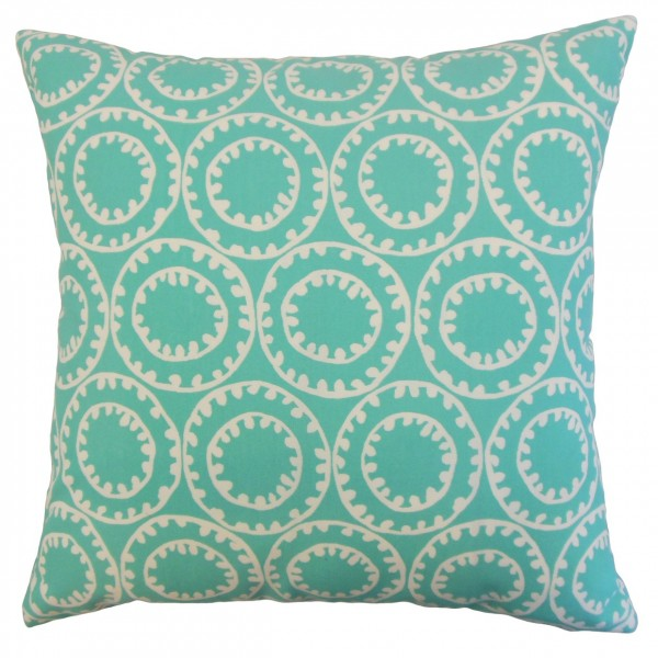 Abdiel Outdoor Pillow Turquoise