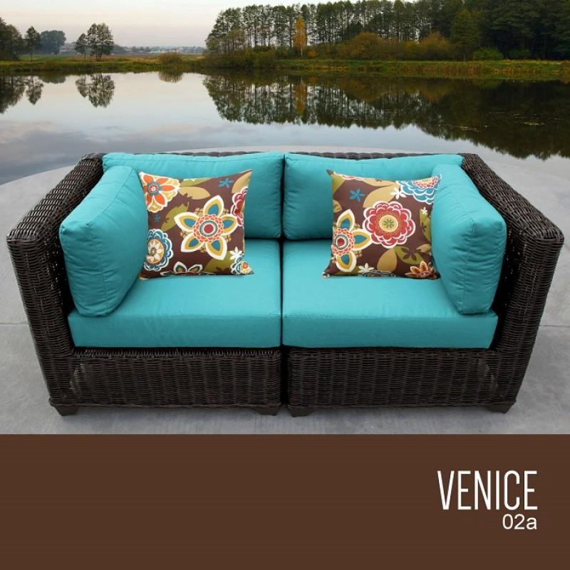 Venice 2pc Outdoor Wicker Patio, Venice Outdoor Furniture