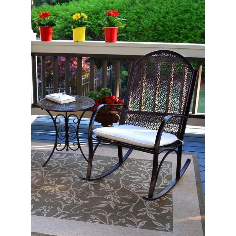 Groovy 2Pc Garden Rocker Bistro Set Ibusinesslaw Wood Chair Design Ideas Ibusinesslaworg