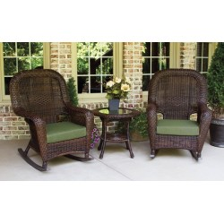Sea Pines 3 Piece Rocker & Table Set