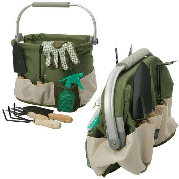 Foldaway Aluminum Framed Garden Tools Carry Bag