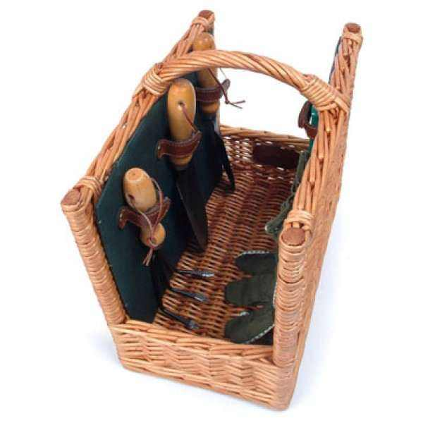 The Arbor Willow Gardening Basket
