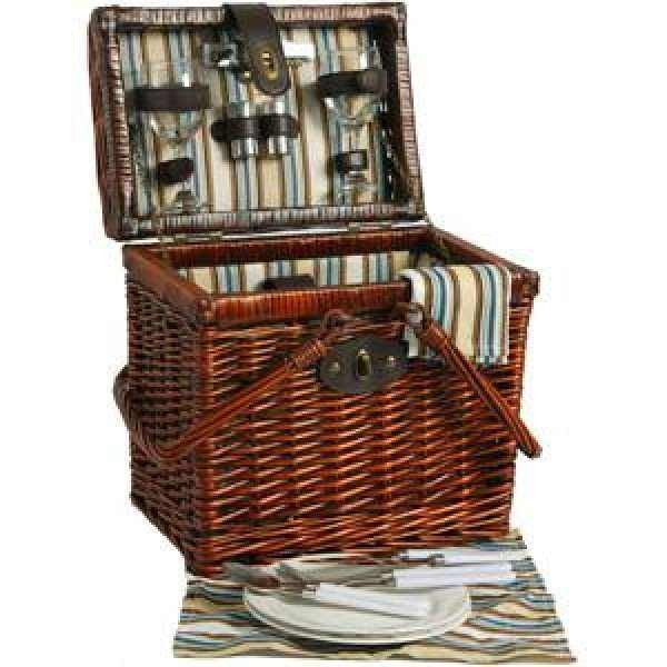 Picnic Willow Basket for 2