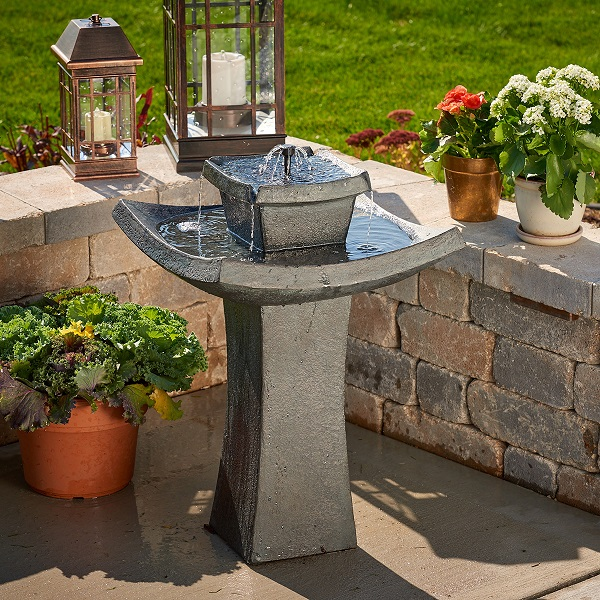 Mahayana 2 Tier Solar On Demand Fountain