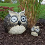 Solar Owl Accent Lights Set of Two