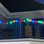 Solar String Lights Chinese Lanterns 20 ct