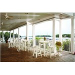 Companion Outdoor Bar Stool with Back