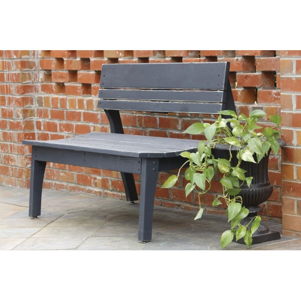 Two Seat Bench with Back
