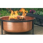 Outdoor Classics Hammered Copper Fire Pit