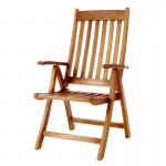 5 - Position Folding Arm Chair