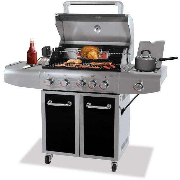 Deluxe Outdoor LP Gas Grill