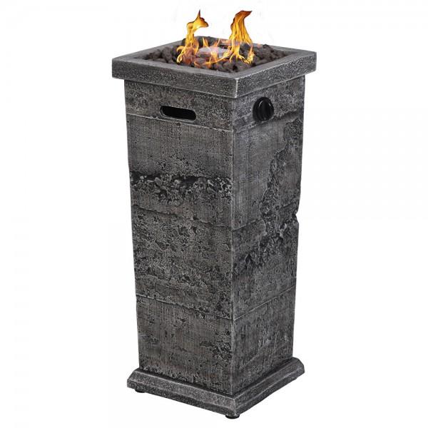 LP GAS Outdoor Fire Column - Large
