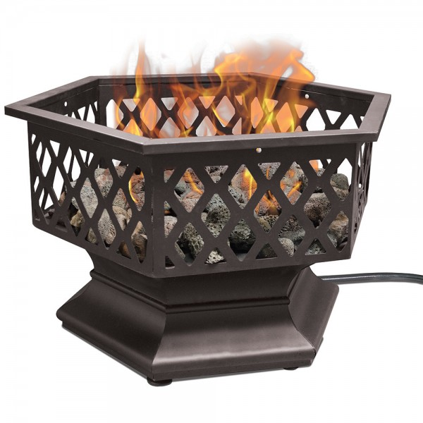 LP GAS Portable Outdoor Fireplace
