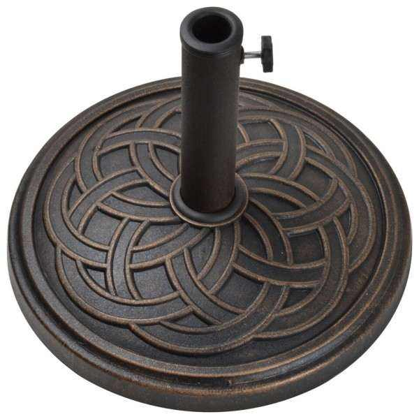 12kg Gaelen Umbrella Base - Antique Bronze