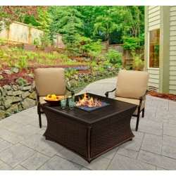 - Mendocino Chat Height Firepit