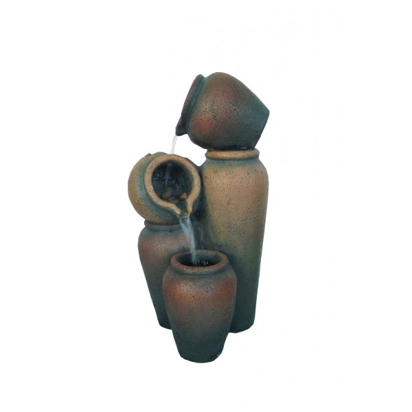 "Bahia 24"" 4 Jugs Bowl Fountain"