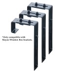 Deck Rail Brackets for Window Boxes