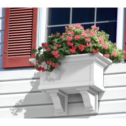 Yorkshire Window Box 2ft White