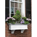 Yorkshire Window Box 3ft White