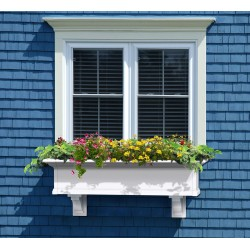 Yorkshire Window Box 4ft White