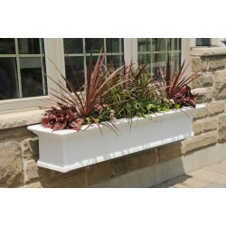 Yorkshire Window Box 5ft White