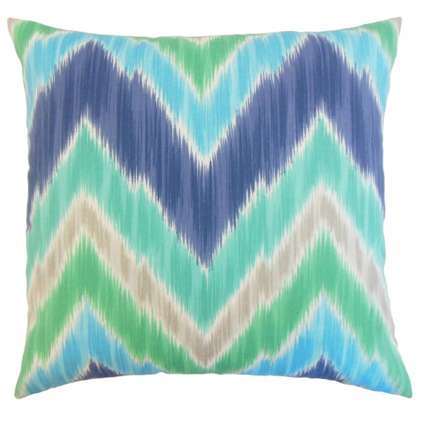 Daemyn Outdoor Pillow Blue