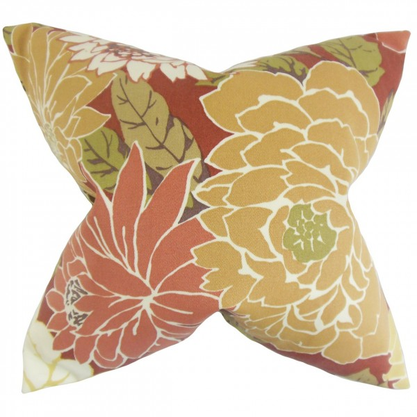 Delaney Floral Pillow Pink