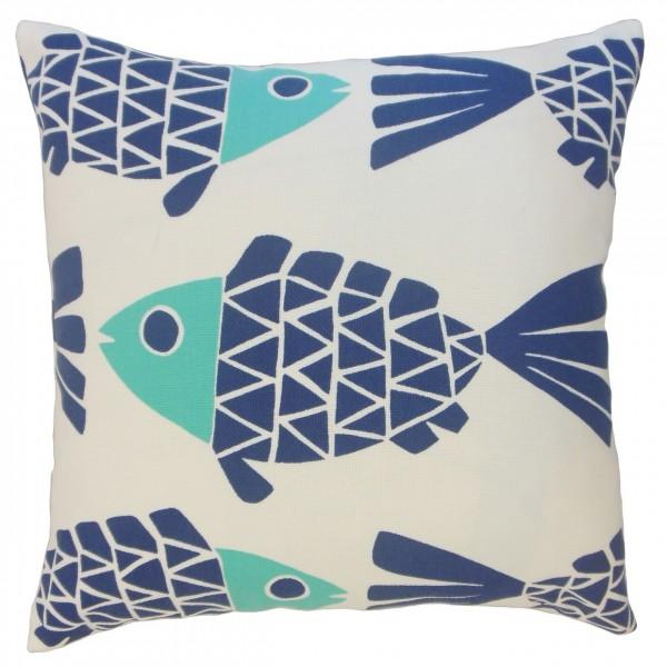 Edana Graphic Pillow Bluemarine