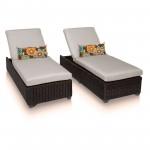 2 Set Venice Chaise Lounge