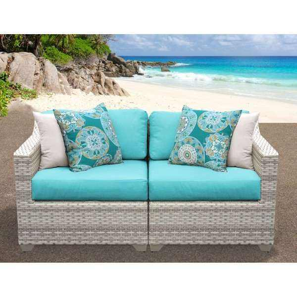 2PC Fairmont Outdoor Wicker Patio Furniture Set 02a