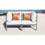 Carlisle 2 Piece Outdoor Wicker Patio Furniture Set 02a