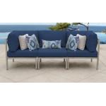 Carlisle 3 Piece Outdoor Wicker Patio Furniture Set 03b