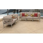 Carlisle 5 Piece Outdoor Wicker Patio Furniture Set 05d
