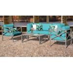 Carlisle 6 Piece Outdoor Wicker Patio Furniture Set 06b