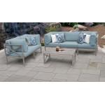 Carlisle 6 Piece Outdoor Wicker Patio Furniture Set 06c