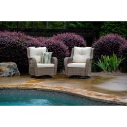 Rio Vista 2PC Chair Set  (2 Swivel Chairs)