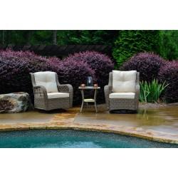 Rio Vista 3PC Bistro Set (2 Swivel chairs, 1 table)
