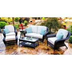 Sea Pines 6pc Loveseat Set
