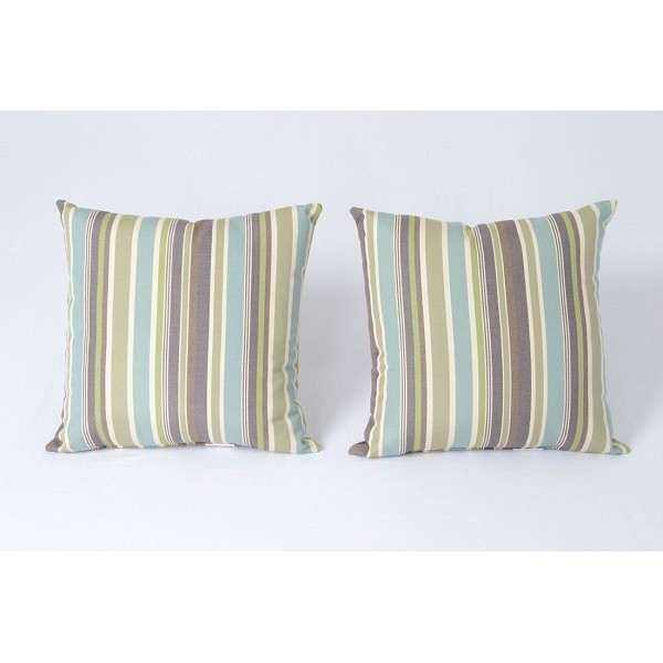 2 Outdoor Toss Pillows