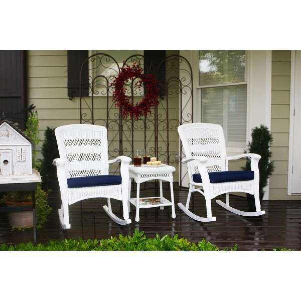 3PC Plantation Rocking Set (2 rockers, 1 Side)